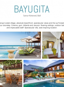 Best Luxury Villas  - Villa Bayu Gita