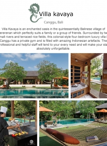 Best Luxury Villas - Villa  Kavaya