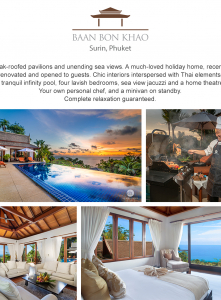 Best Luxury Villas - Villa Baan Bon Khao -