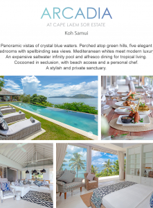 Best Luxury Villas  - Arcadia at Cape Laem Sor Estate