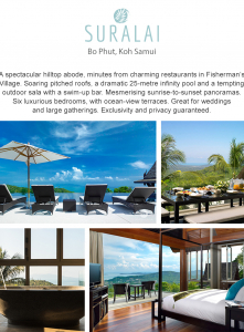 Best Luxury Villas - Villa Suralai