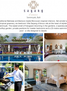 Best Luxury Villas - Villa Sayang dAmour
