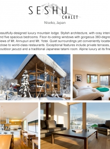 Best Luxury Chalets - Seshu Chalet