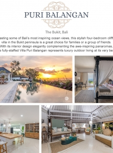 Best Luxury Villas - Villa  Puri Balangan