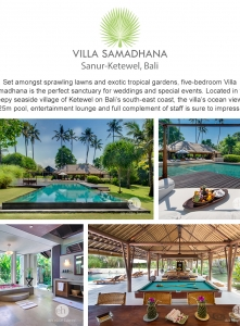 Best Luxury Villas - Villa Samadhana