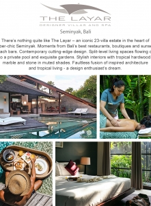 Best Luxury Villas - The Layar