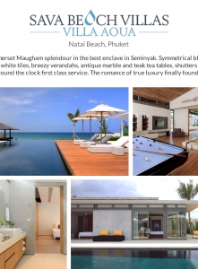 Best Luxury Villas - Villa Aqua