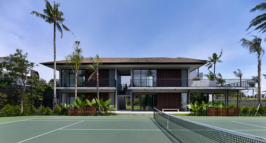 Arnalaya Beach House, Canggu - Tennis court
