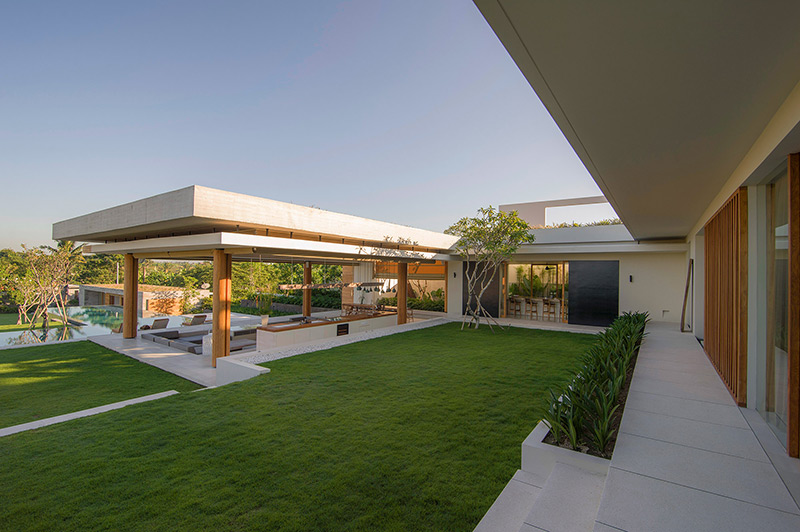 The Iman Villa Exterior