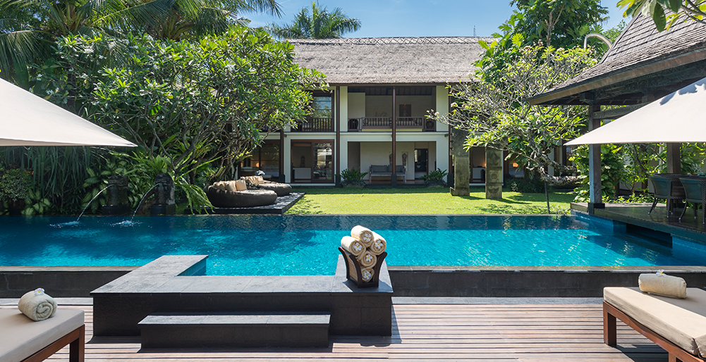 1. Villa Ramadewa - The pool