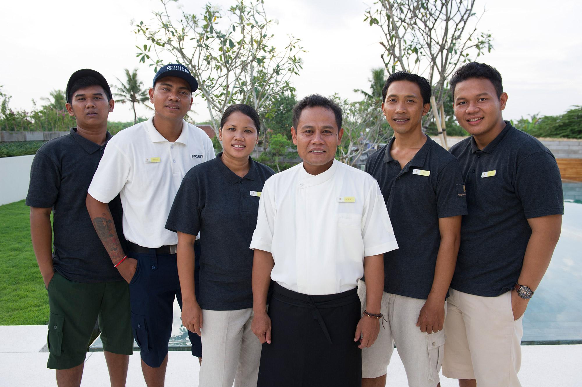 The Iman Villa - Our staff (2)