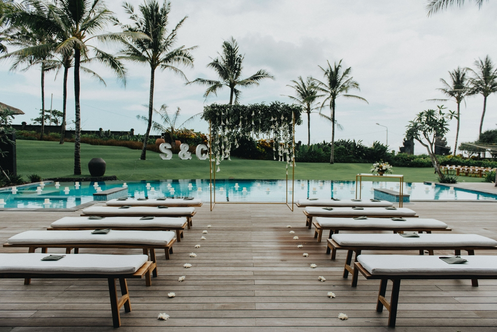Villa Semarapura Cemagi Beach Bali wedding venue