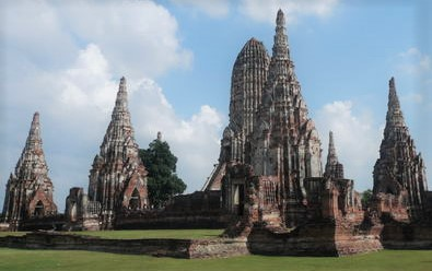 Historic city of Ayutthaya by UNESCO