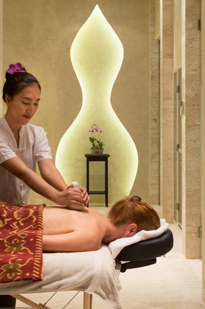 Massage therapy at Malawana Spa Phuket