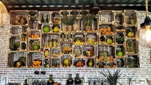 Wall of Fresh Produce