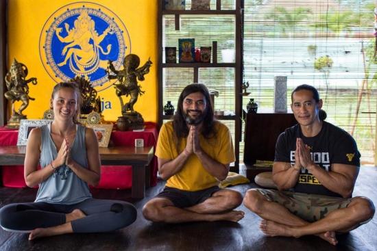nataraja yoga class