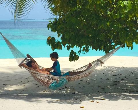 Maldives with kids - Amilla Beach Villa Residences
