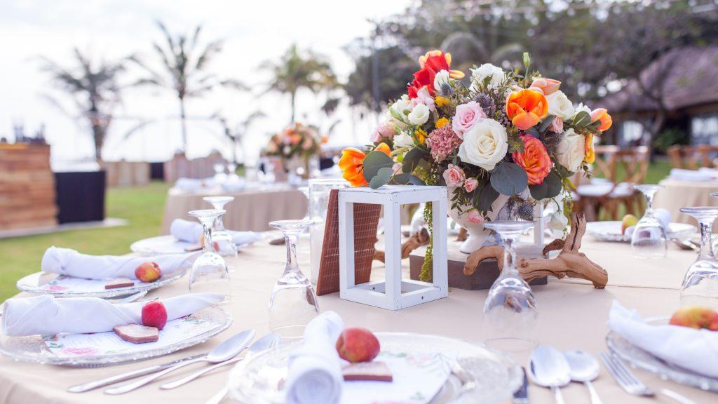 Bali wedding flower bouquet