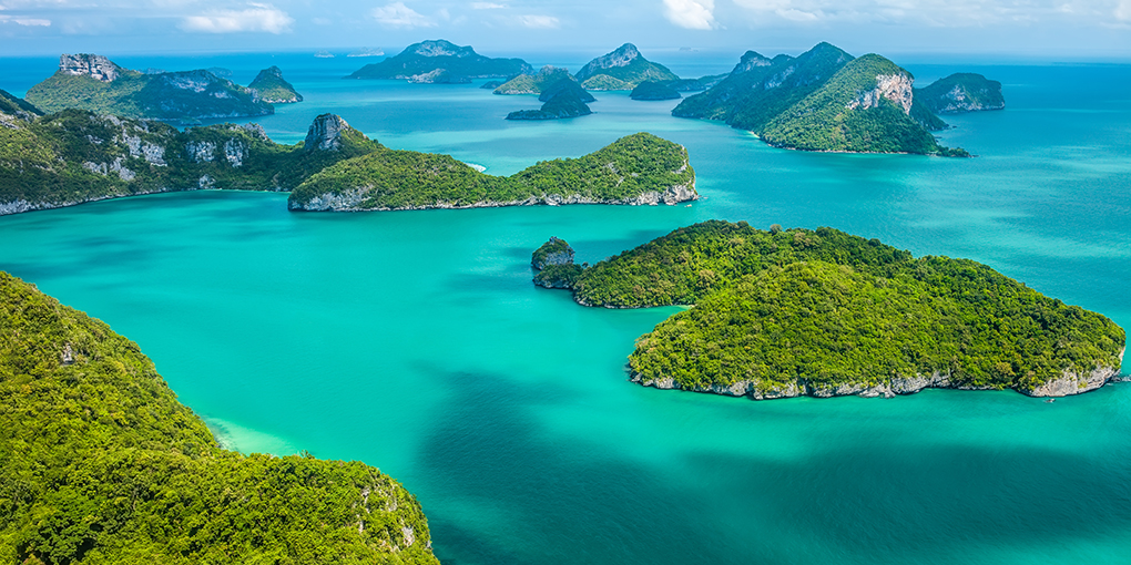 Koh Samui island destination Thailand