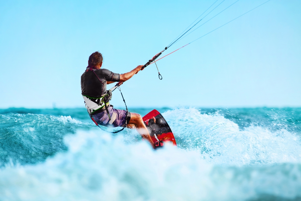 Kiteboarding in Koh Samui