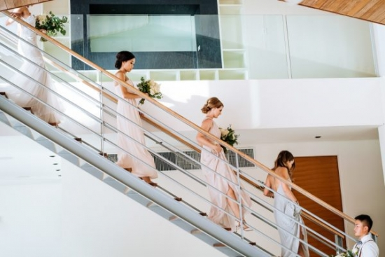 Phuket wedding party by Junebug Weddings