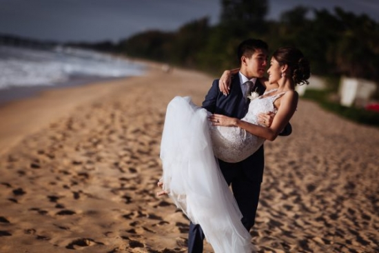 Beach Wedding Phuket by Junebug Weddings