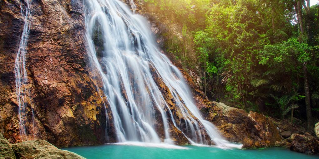 koh samui na muang waterfalls