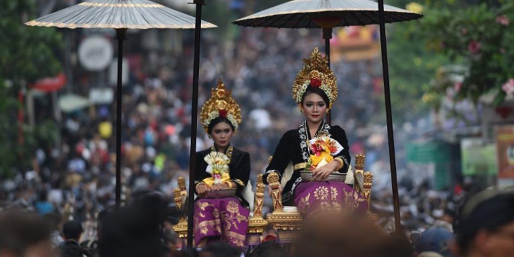Royal Cremation Ubud Bali photo by Sonny Tumbelaka AFP
