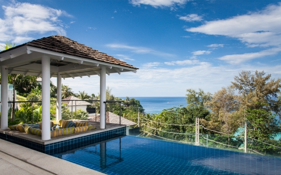 Surin villa with view