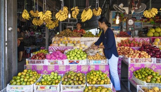 koh samui fruit market