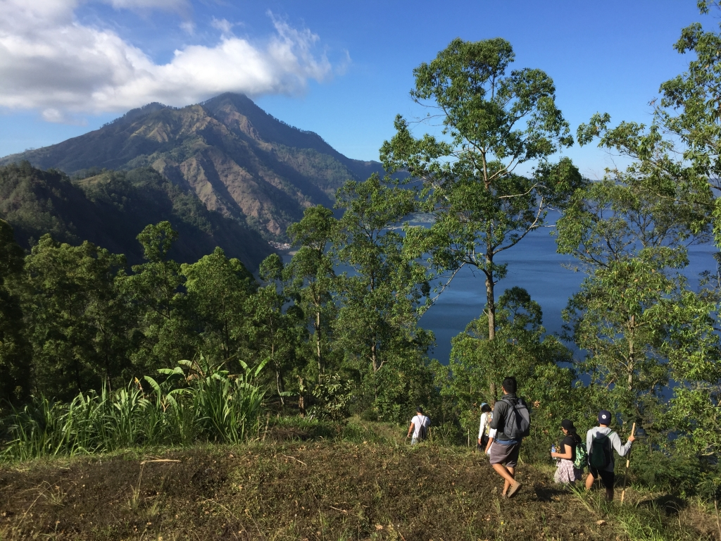 Muntigunung Bali charity hike with Elite Havens – Views of Lake Batur