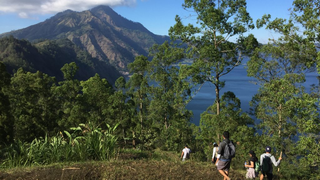 Muntigunung Bali charity hike with Elite Havens – Views of Lake Batur