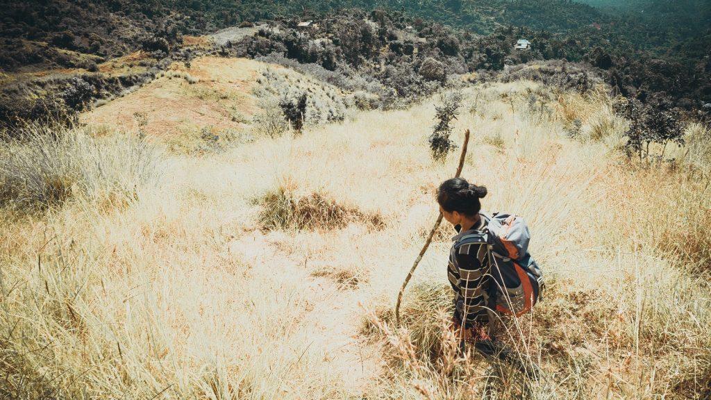 Muntigunung Bali charity hike with Elite Havens – Bali dry season