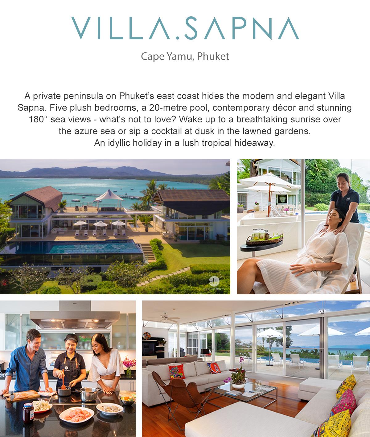Villa Sapna - Cape Yamu, Phuket, Thailand
