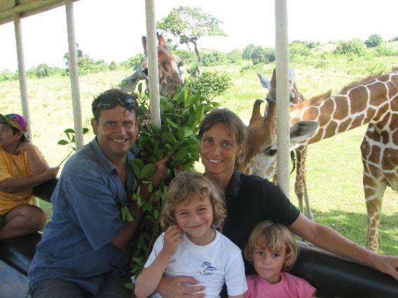 Jon Stonham and his family