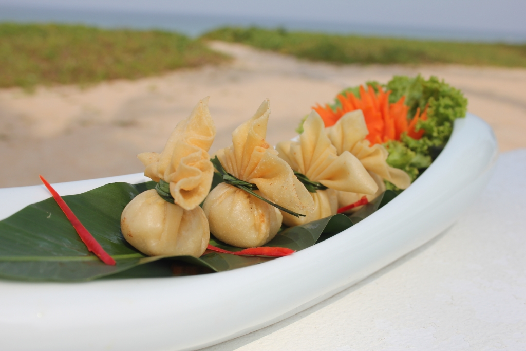 Thai style wonton