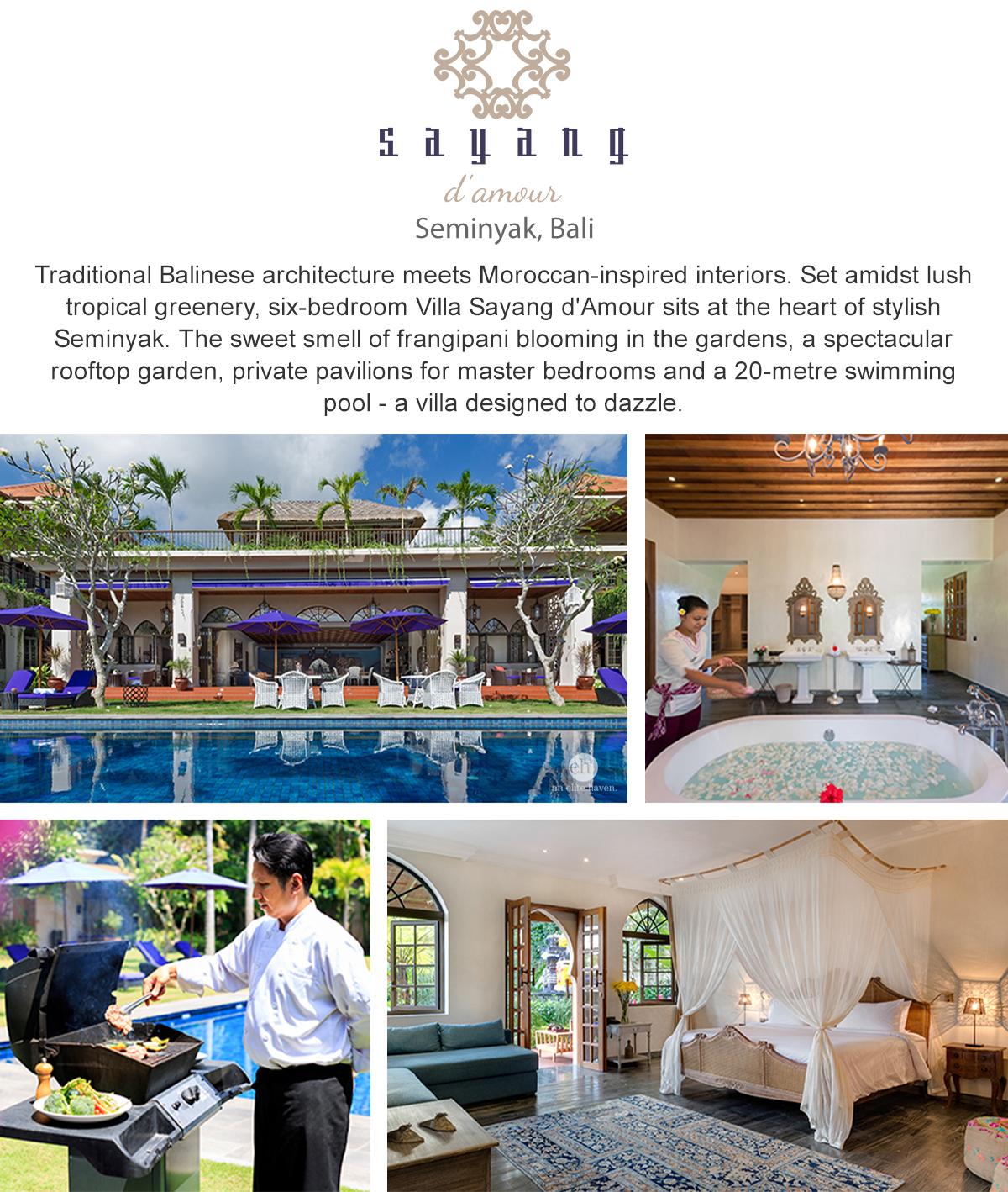 Villa Sayang dAmour - Seminyak, Bali