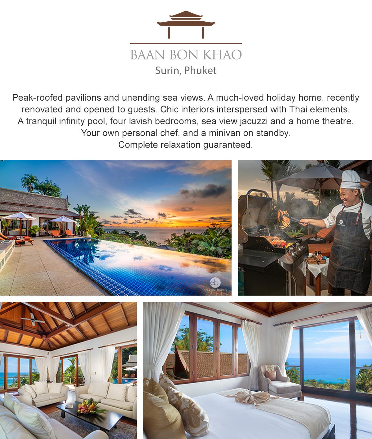Villa Baan Bon Khao - Surin, Phuket