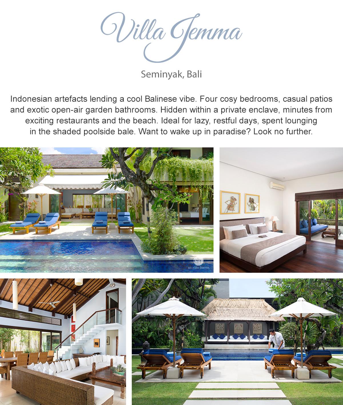 Villa Jemma - Seminyak, Bali
