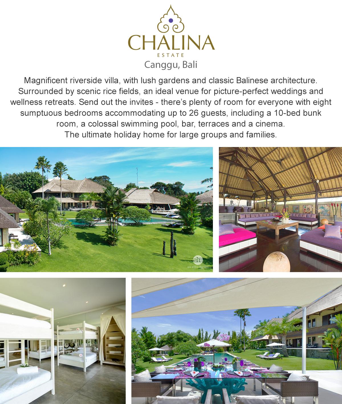 Chalina Estate - Canggu, Bali