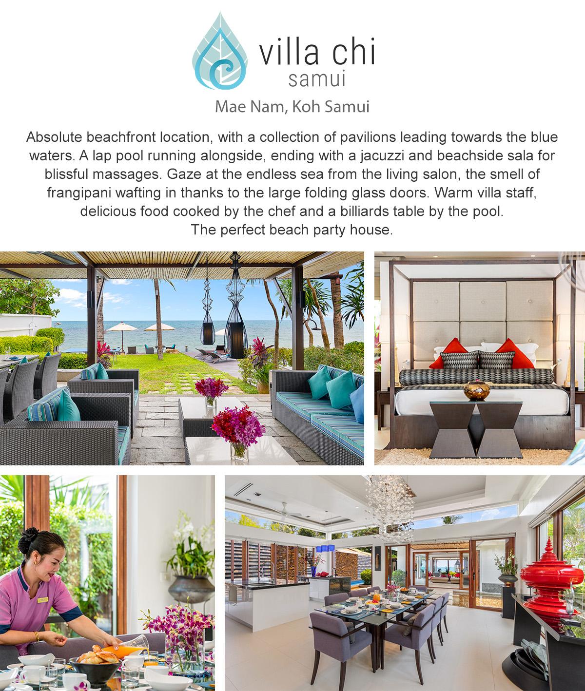 Villa Chi Samui - Mae Nam, Koh Samui, Thailand