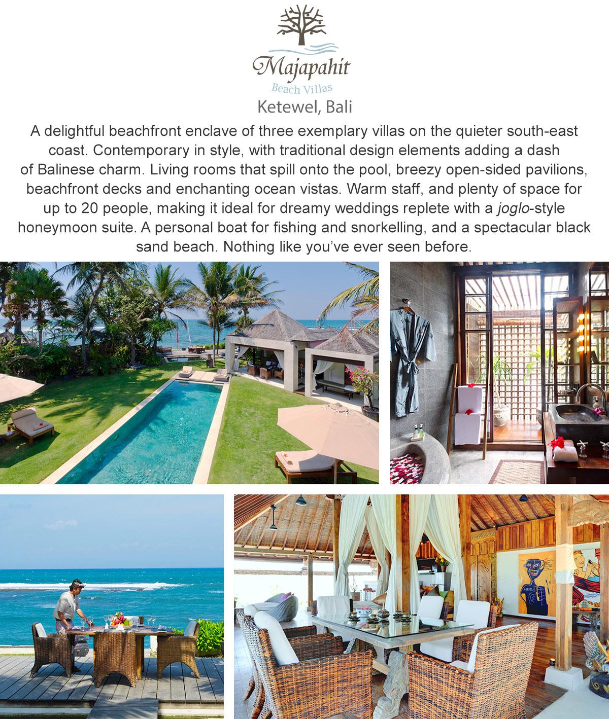 Majapahit Beach Villas - Ketewel, Bali