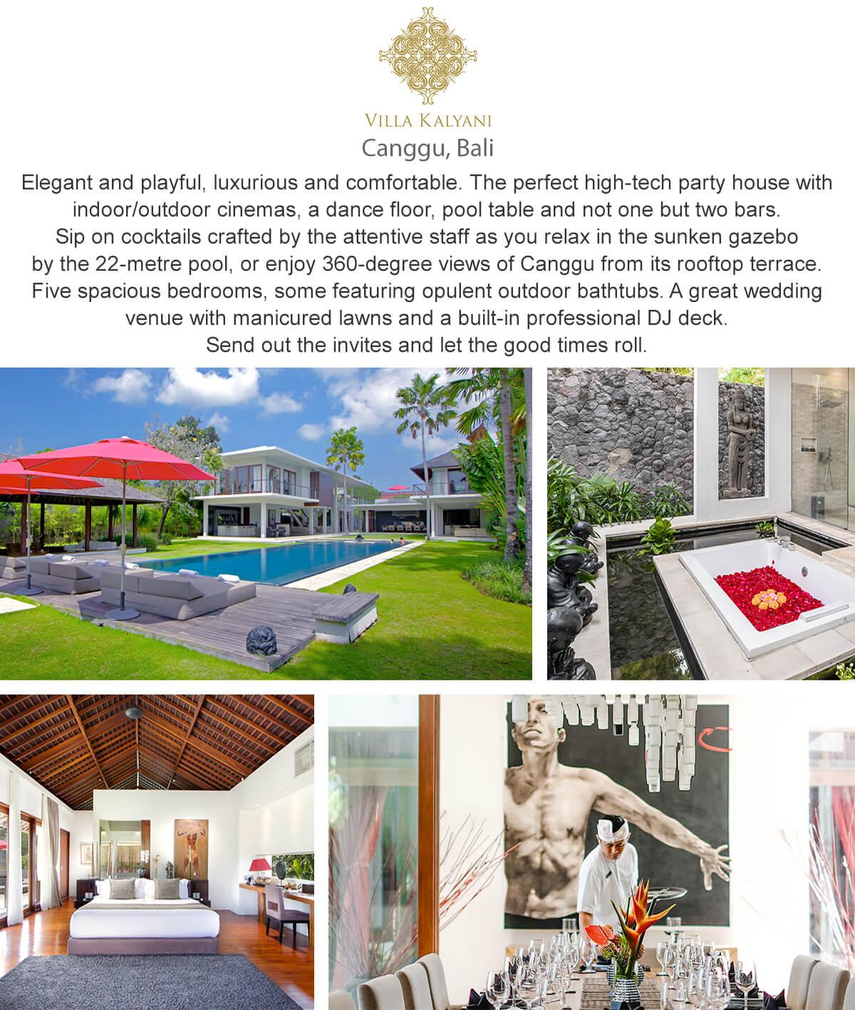 Villa Kalyani - Canggu, Bali