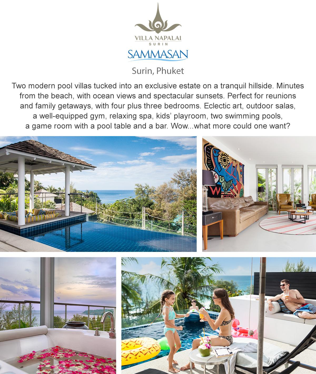 Villa Sammasan & Villa Napalai - Surin, Phuket