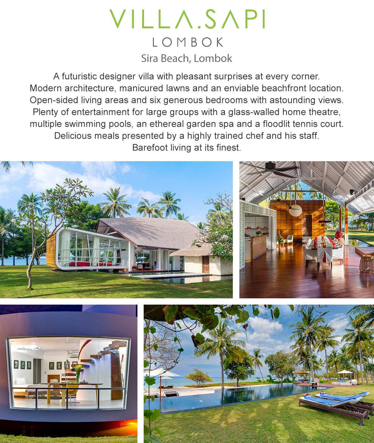 Villa Sapi - Lombok, Indonesia