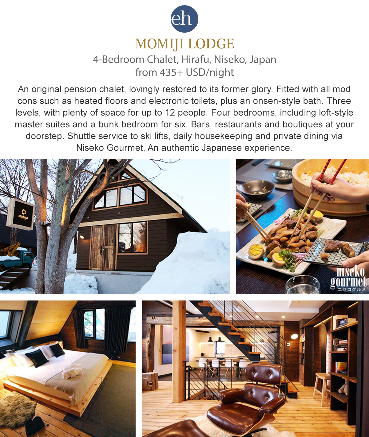 Momiji Lodge - Niseko, Japan