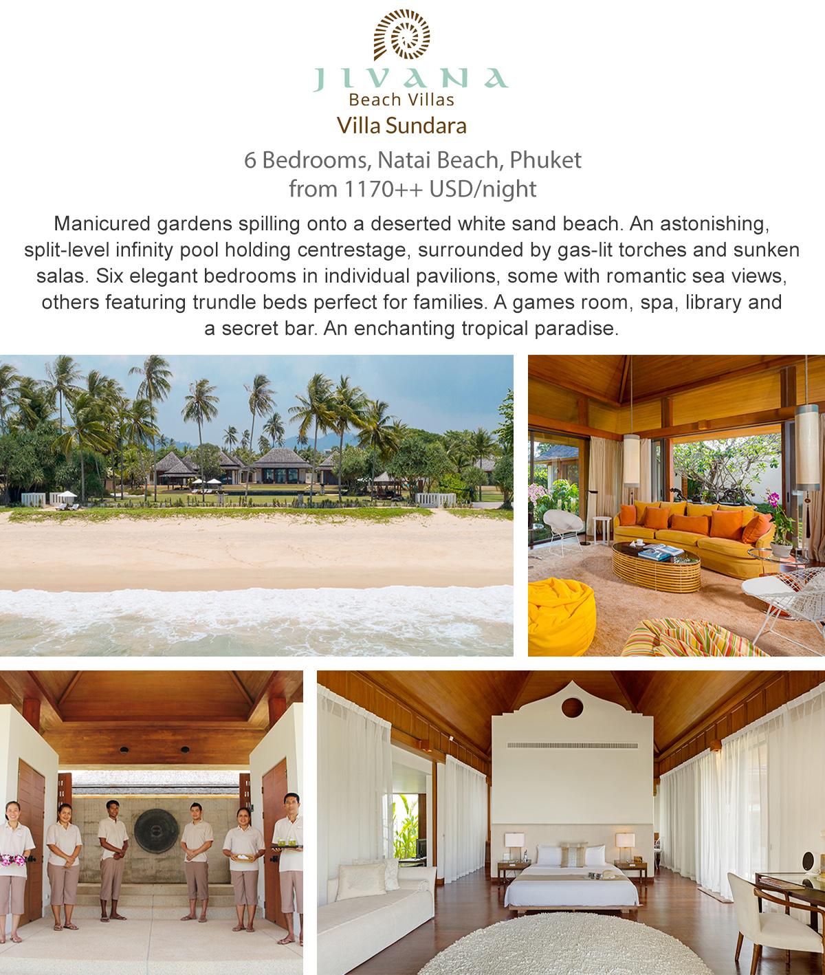Villa Sundara - Phuket, Thailand