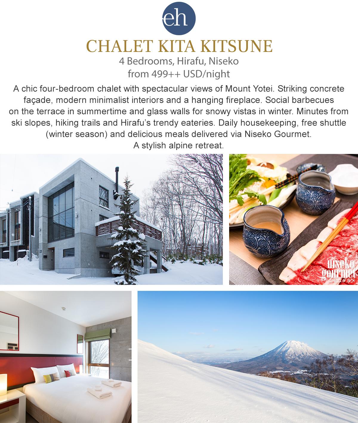 Chalet Kita Kitsune - Niseko, Japan