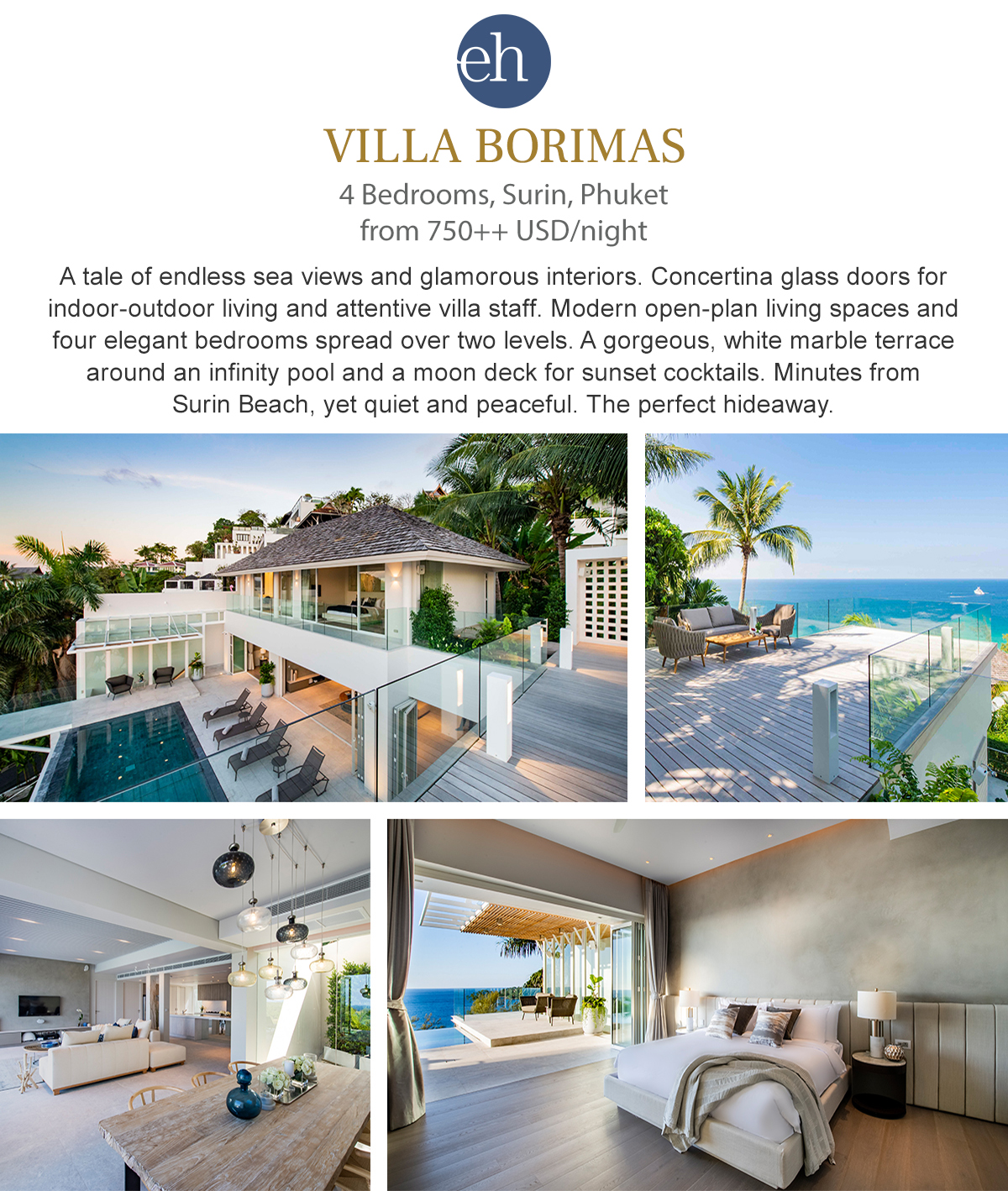 Villa Borimas - Surin, Phuket