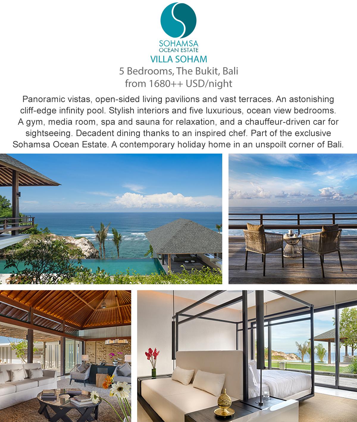 Villa Soham- The Bukit, Bali